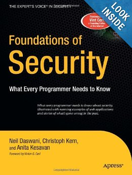 Cover art for Foundations of Security: What Every Programmer Needs to Know